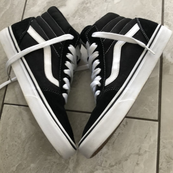 Vans Other - VANS HIGH BLACK AND WHITE SNEAKERS